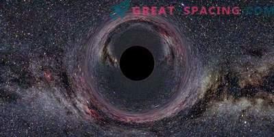 Simulacija za tisoče črnih lukenj