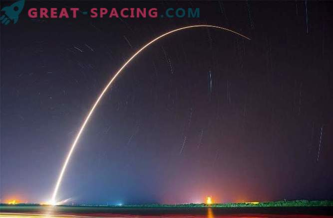 SpaceX rakett Falcon viis teise eduka maandumise.