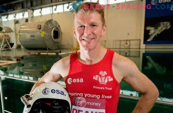 Briti astronauti plaanib osaleda Londoni maratonil oma aja jooksul kosmoses.