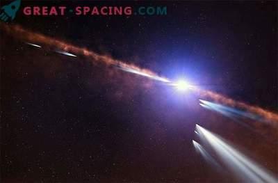 Exocoms spin ümber vastsündinud tähe süsteemi