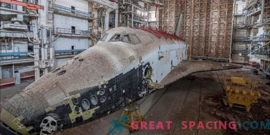 Külma sõja armid! Imetlege unustatud Nõukogude kosmosesüstikut