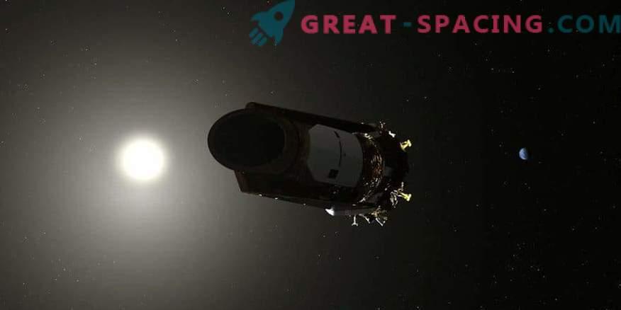 NASA Kepleri teleskoop kulutab viimast kütusepilti