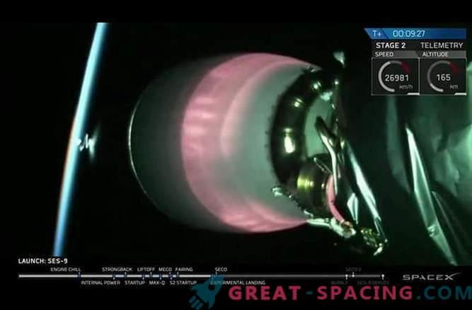 SpaceX tegi viienda katse Falcon-9 raketi maandamiseks.