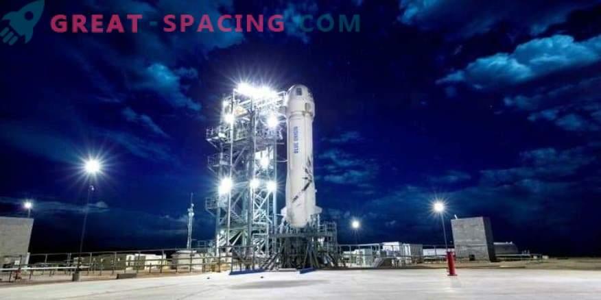 Uus Shepardi rakett lõpetas 10. katset.