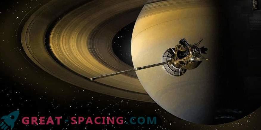 Cassini aparaat põles Saturni taevas.