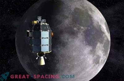 Kuu on tolmune atmosfäär.