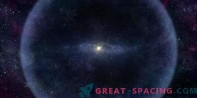 Oort Cloud: Päikesesüsteem Outer Ice Shell