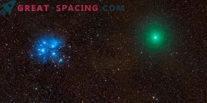 Comet, meteoor, udu ja pleiadid ühes eepilises fotos