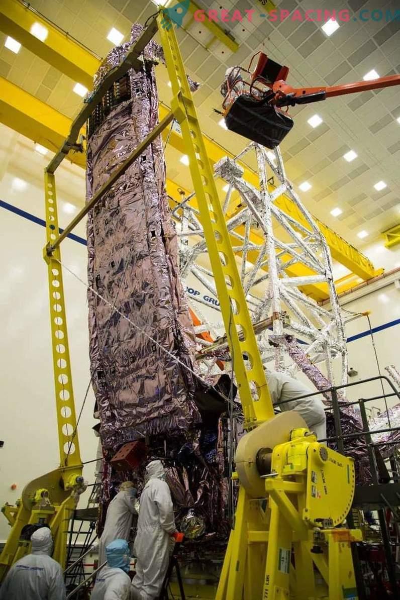 James Webbi teleskoobi kaitsekiht