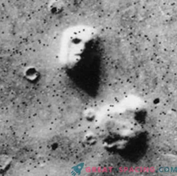 Marsi nägu häirib endiselt ufolooge