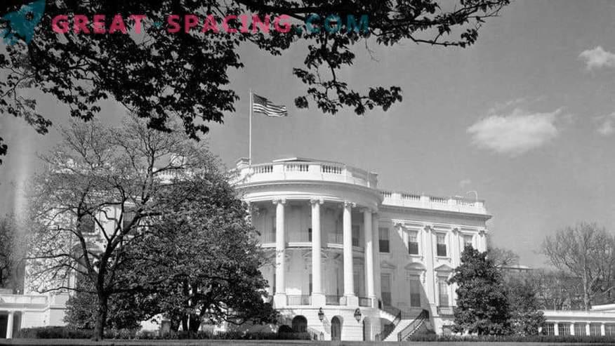 Milliseid tundmatuid esemeid Washingtonis 1952. aastal täheldati