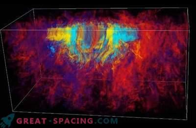 Hüpernova esinemine on tingitud mürgist magnetilisest