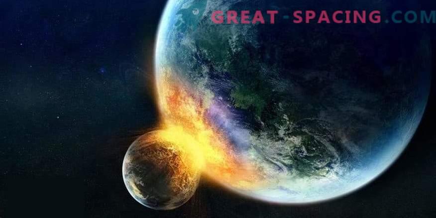 Mis juhtub, kui kuu tabab Maad