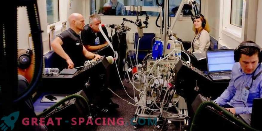 Astronauti hingamisteede katsed