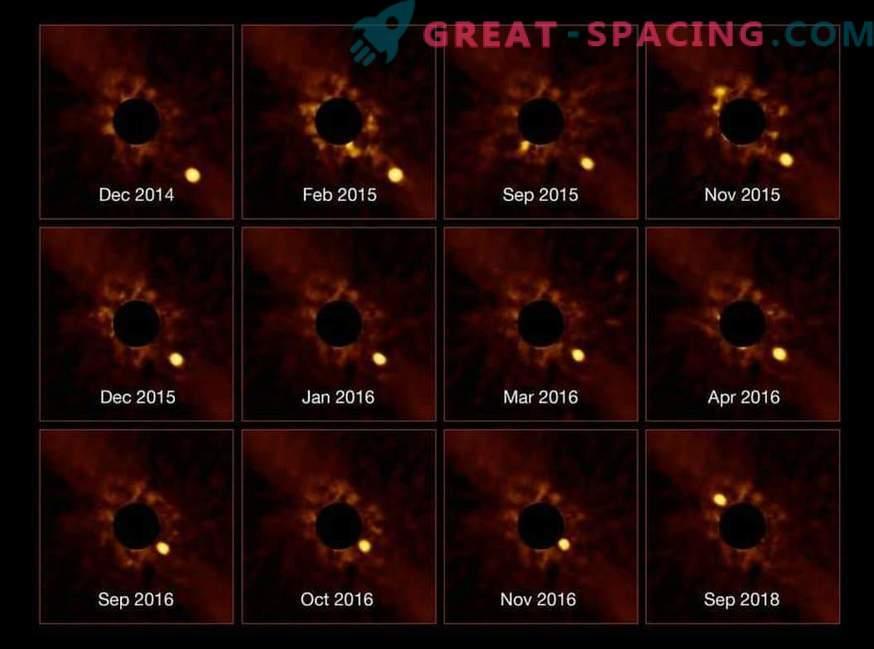 Plaani otsene jälgimine 63 valgusaasta kaugusel