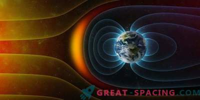 Earth's magnetic field was on the verge of extinction