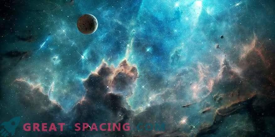 Pimedate ainete galaktiline test