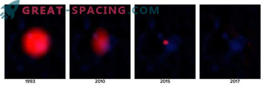 Esimene üksik gamma-ray lõhkemine teleskoopilises uuringus