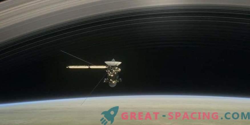 Cassini vannis ringi vihma