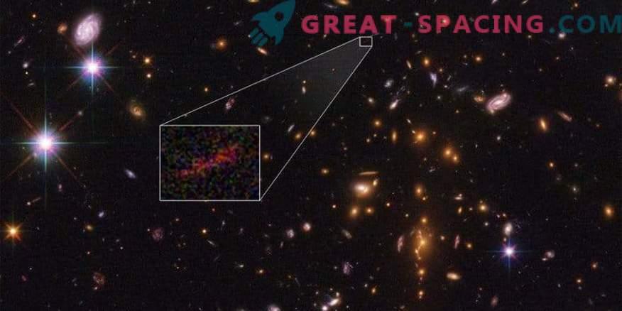 Hubble ja Spitzer ühendavad, et saada kaugemast galaktikast parem ülevaade