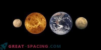 Mudel näitab maapealsete planeetide moodustamise mõistatusi