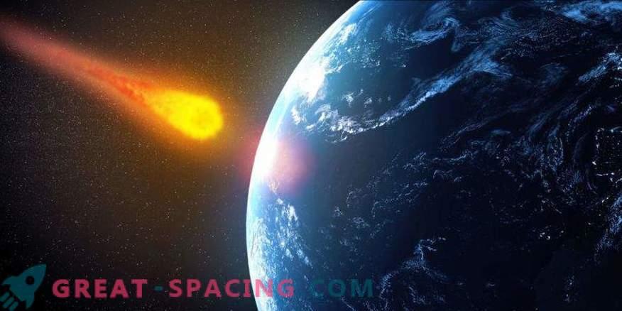 Kui asteroid satub ookeani, ilmub tsunami?