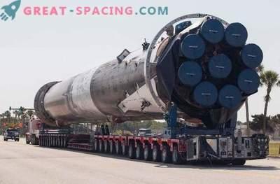 SpaceX rakett Falcon sai maksimaalset kahju