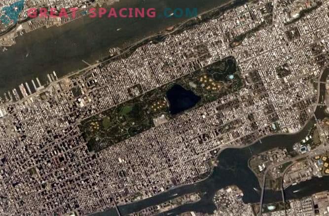 Planificación urbana: ciudades desde el espacio