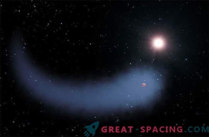 Teadlased on avastanud kuuma planeedi koos hiiglasliku komeetide sabaga