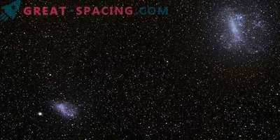 Los pares de pequeñas galaxias en colisión son capaces de sembrar futuras estrellas
