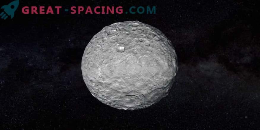 Võimalikud iidsed ookeani jäljed Ceresis