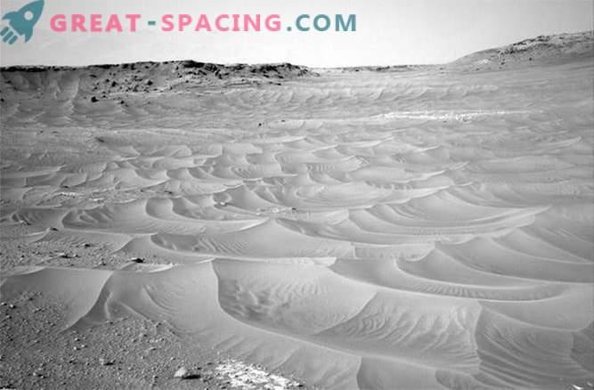 Uudishimu avastas Marsil rippuva liiva