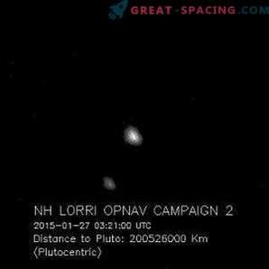Pluto väikesed satelliidid tabasid NASA kosmoselaev.