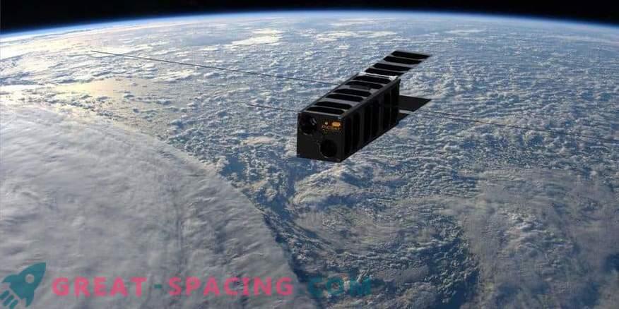 Väike satelliit proovib kauget planeedi