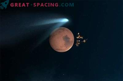 Marsi kosmoseaparaat teatas oma lähedastest komeetidest.