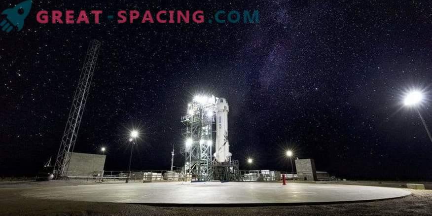 Sinine päritolu valmistab ette New Shepardi raketi 10. katsetulemuse