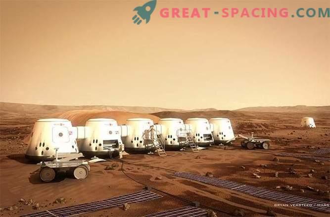 100 inimest on valmis Marssi ühel moel minema