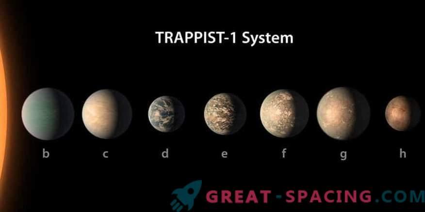 Star TRAPPIST-1 planeet võib olla elusõbralik.