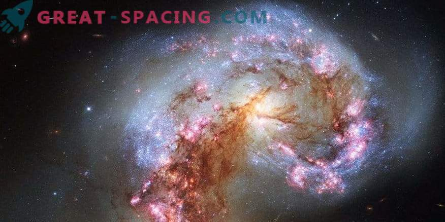 Leitud orgaaniline materjal antenni galaktikas