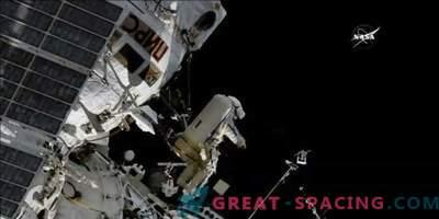 Uus antenn lindude jälgimiseks ISSis