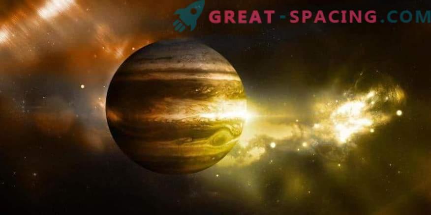 Jupiter on meie süsteemi vanim planeet