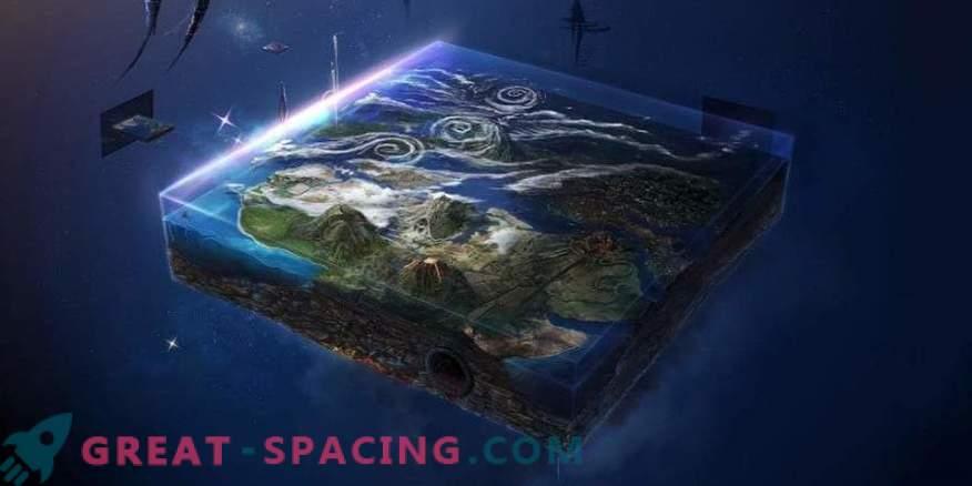 Ekspeditsioon maailma otstesse. Uus katse tõestada Maa tasapinda