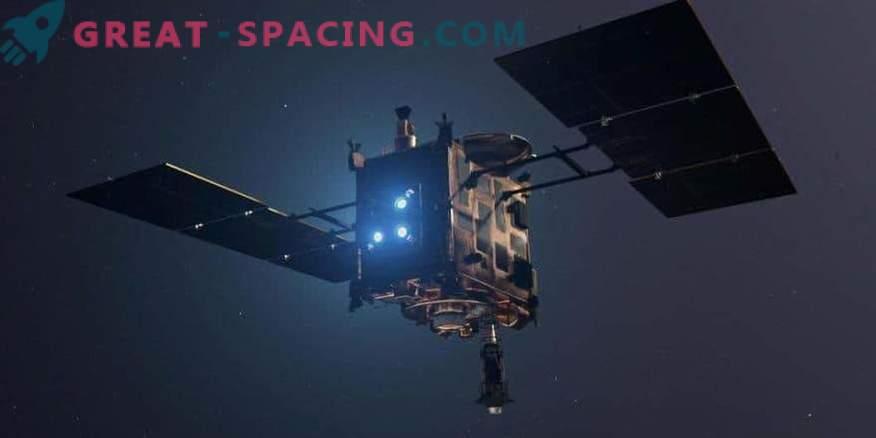 Hayuguuse 2 vari täheldati Ryugu asteroidil