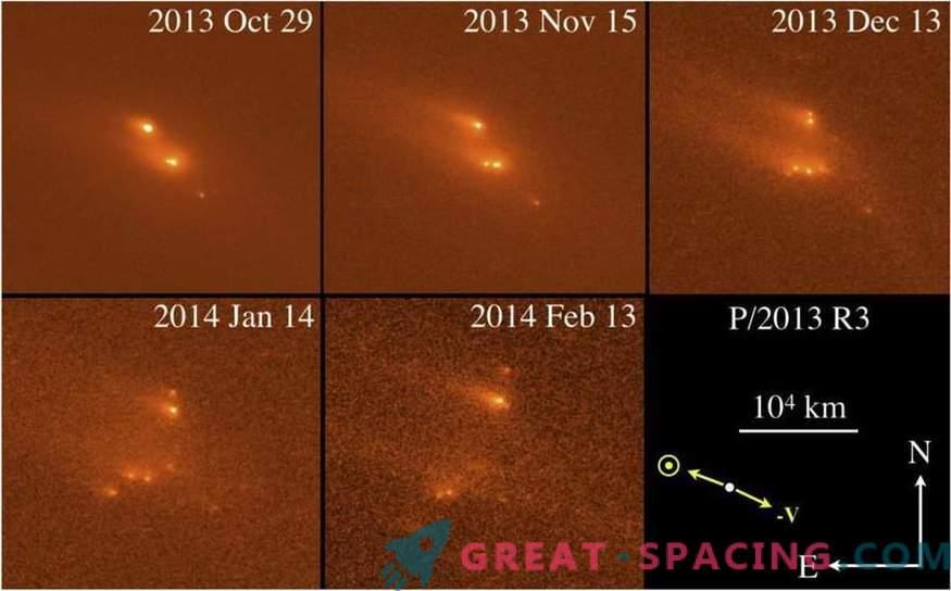 Hubble näitas asteroidi salapärast kokkuvarisemist