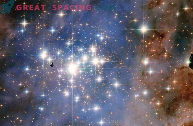 Hubble nägi star teemandid
