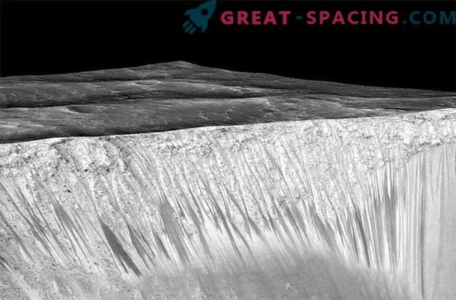 Kui vedel vesi voolas Marsile
