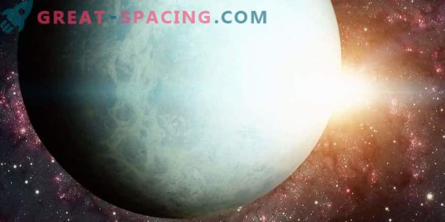 Päikese mõju Uranuse heleduse muutumisele