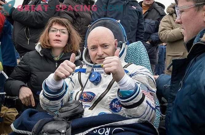 Eepiline üheaastane missioon kosmosejaamas on lõpule viidud.