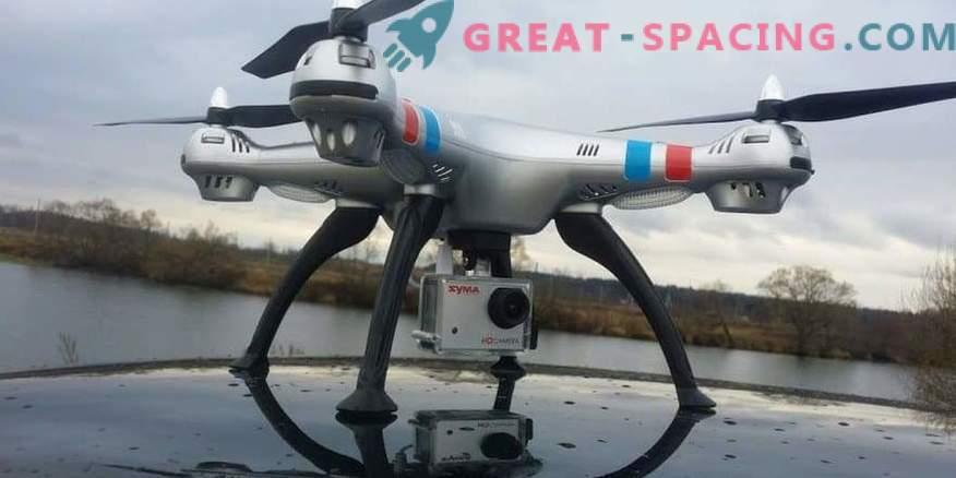 Quadcopter mudelite valik kaameraga