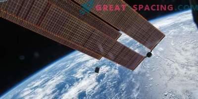 Dellingri seadme vaade ISS-ist